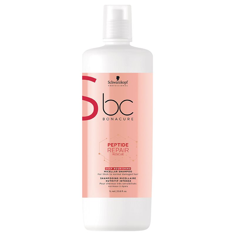 Schwarzkopf Shampoo BC Repair Rescue Nutrição Intensiva 1L