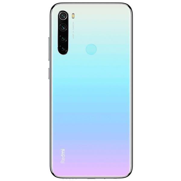 "Smartphone Xiaomi Redmi Note 8 Dual SIM 128GB 6.3"" 48+8+2+2/13MP OS 9.0 - Moonlight White  - Univesal Shop"