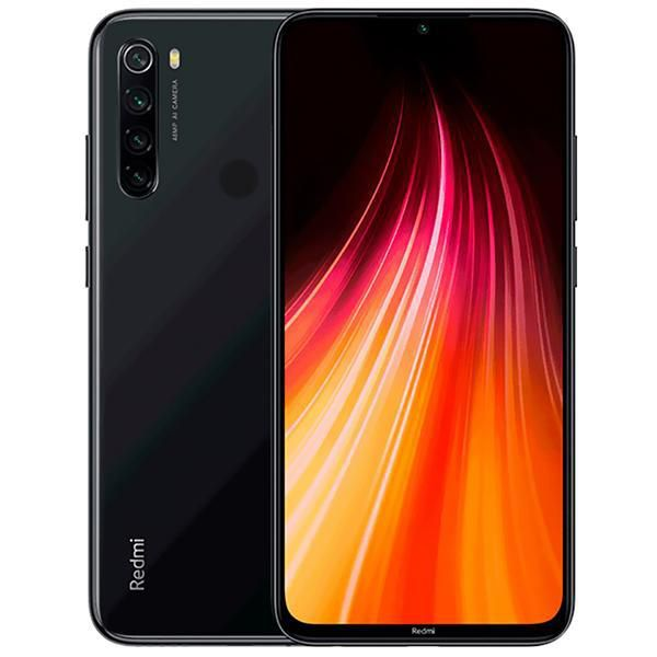 "Smartphone Xiaomi Redmi Note 8 Dual SIM 128GB 6.3"" 48+8+2+2MP/13MP OS 9.0 - Space Black  - Univesal Shop"