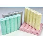 Gesso Mix 15cm (1 Verde, 1Cinza, 1 Amarelo, 1 Rosa)