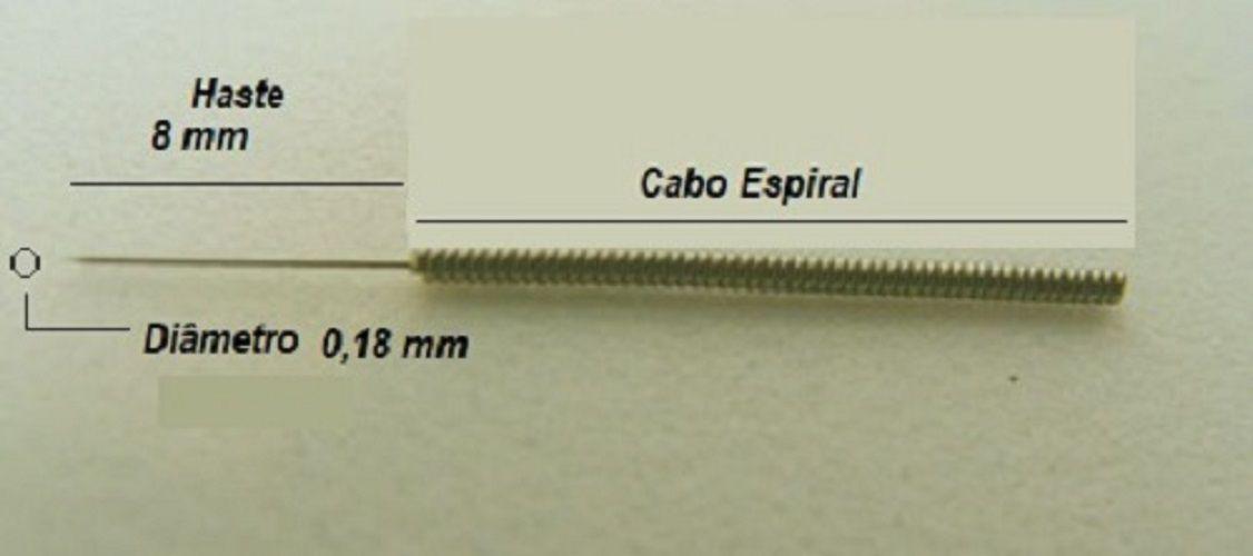 Agulha para Eletrolifting ou Eletrólise-pct 10un