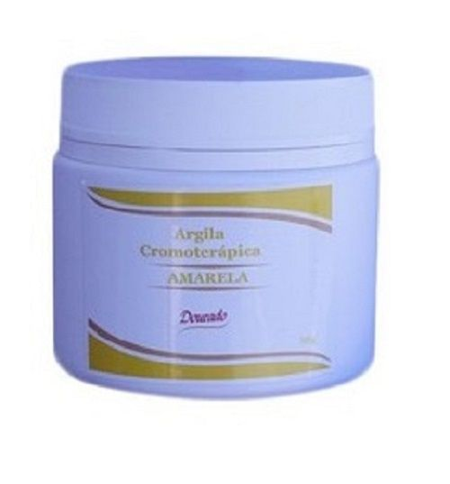 Argila Cromoterápica AMARELA 500g