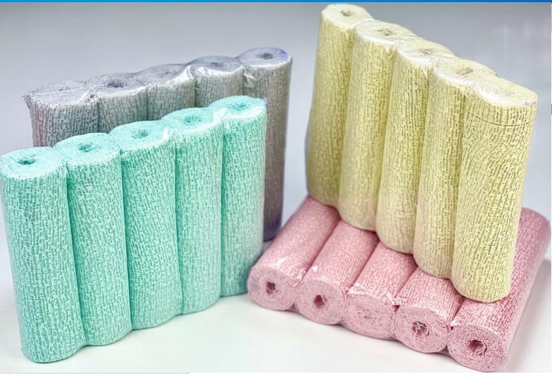 Gesso Mix 20cm (1 Verde, 1Cinza, 1 Amarelo, 1 Rosa)