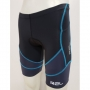 Bermuda Triathlon R2L Endurance Preto/Azul - Masculina