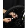 Bomba de Ar Mini Alumínio Cinza - West Biking