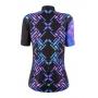 Camisa Ciclismo  Mauro Ribeiro  Comfort Feminina - Draw Azul