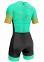 Macaquinho de Ciclismo AR Sport Wear  - Verde Água