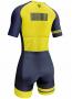 Macaquinho de Ciclismo AR Sport Wear - Amarelo