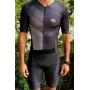Macaquinho Triathlon AR Sport Wear Preto c/ manga