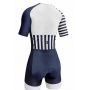 Macaquinho Triathlon AR Sport Wear Branco c/ manga