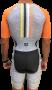 Macaquinho de Triathlon AR Sport Wear Mescla - Manga Curta