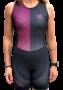 Macaquinho Triathlon AR Sport Wear Preto/Rosa
