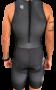 Macaquinho de Triathlon AR Sport Wear Preto - Sem Manga