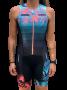Macaquinho de Triathlon Woom Charming - Sem Manga