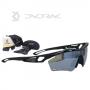 Óculos de Ciclismo Dvorak One 3 lentes - Preto Fosco