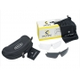 Óculos de Ciclismo Dvorak One 3 lentes - Amarelo