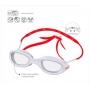 Óculos Natação Speedo Neon Plus Branco - Lente Cristal