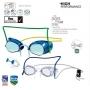 Óculos de Natação Speedo Competition Pack - Lente Azul Espelhado/Cristal