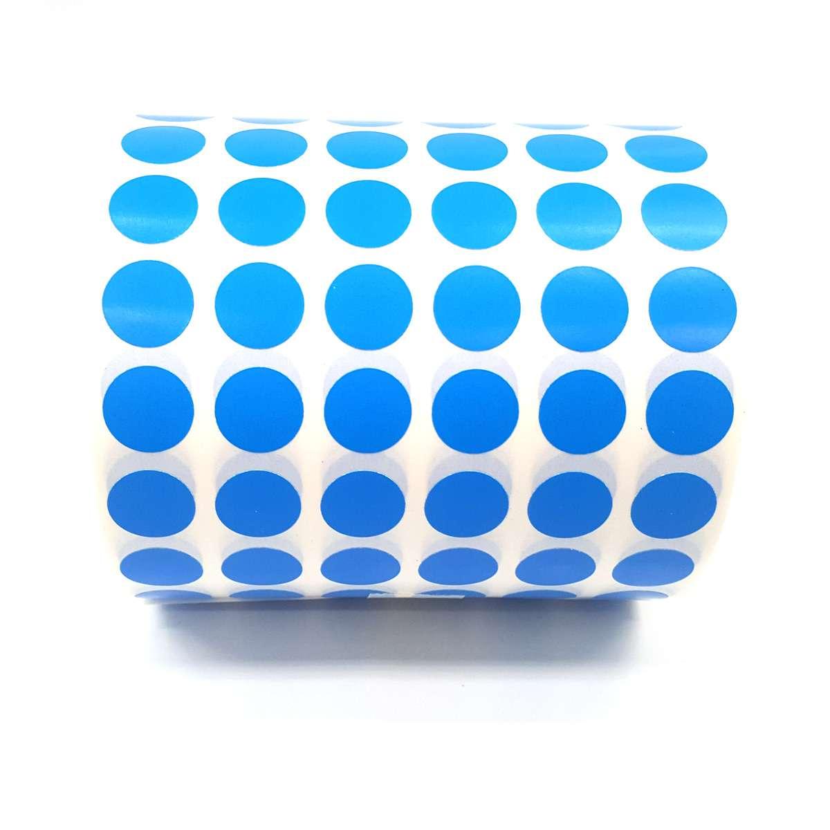 Etiqueta Bolinha 12mm Colorida 1000 Etiquetas