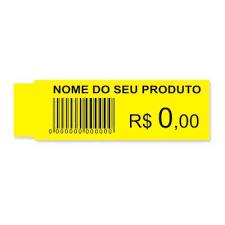 Etiquetas de Gôndolas (sem ribbon).