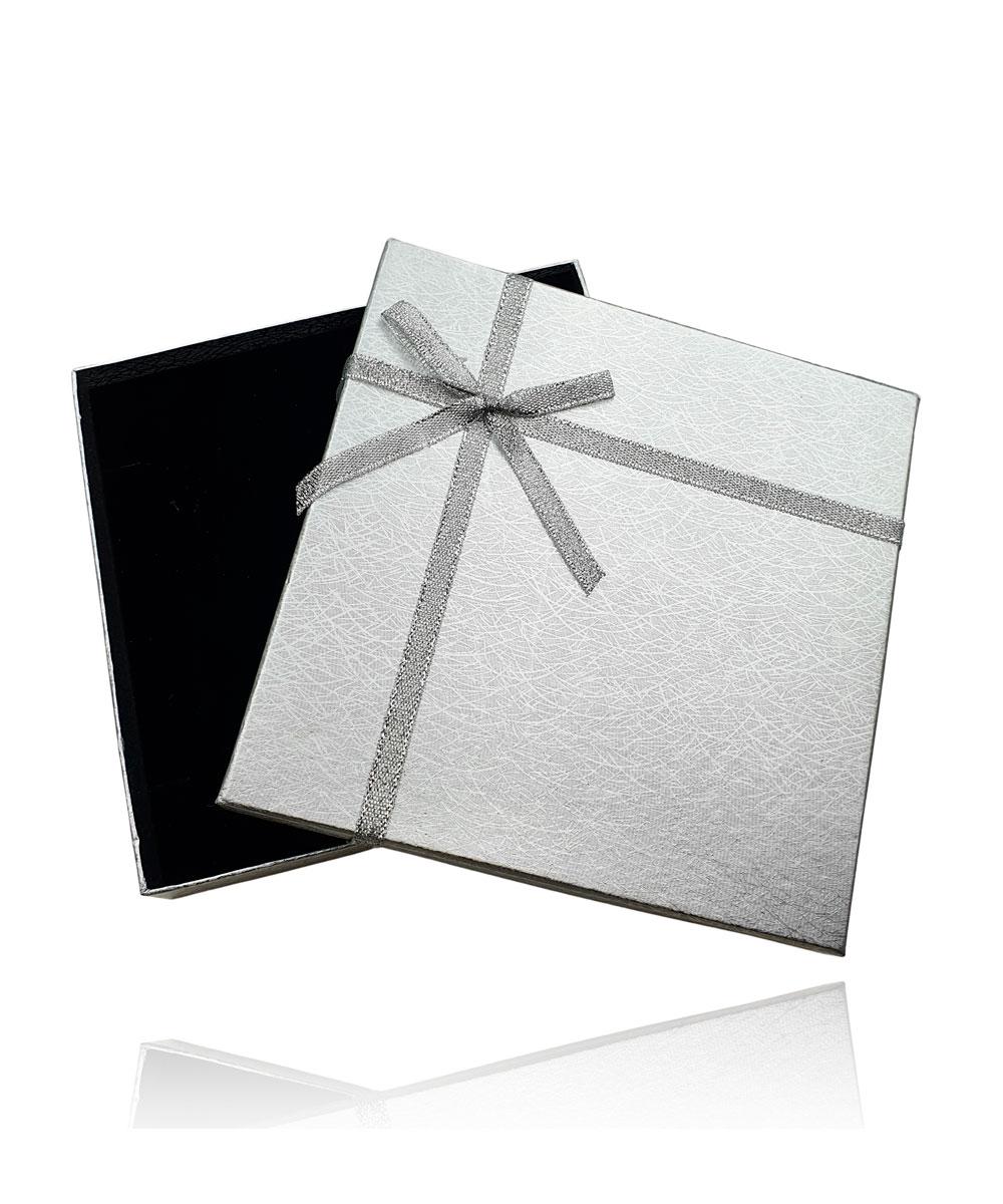 Embalagem Caixinha de Presente Prata