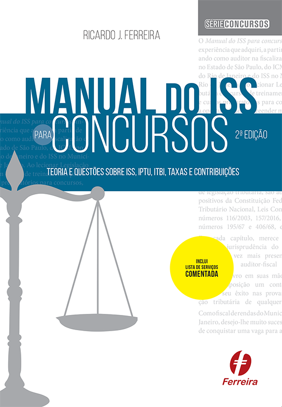 Manual do ISS para concursos