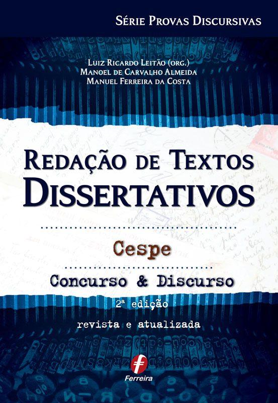 Redação de Textos Dissertativos Cespe