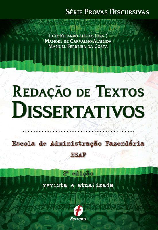 Redação de Textos Dissertativos ESAF
