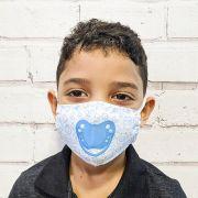 Máscara Chupeta Azul