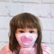 Máscara Chupeta Rosa