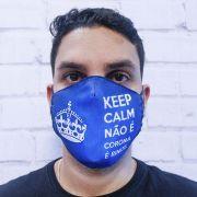 Máscara Keep Calm