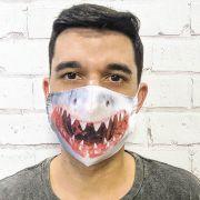Máscara Tubarão Real