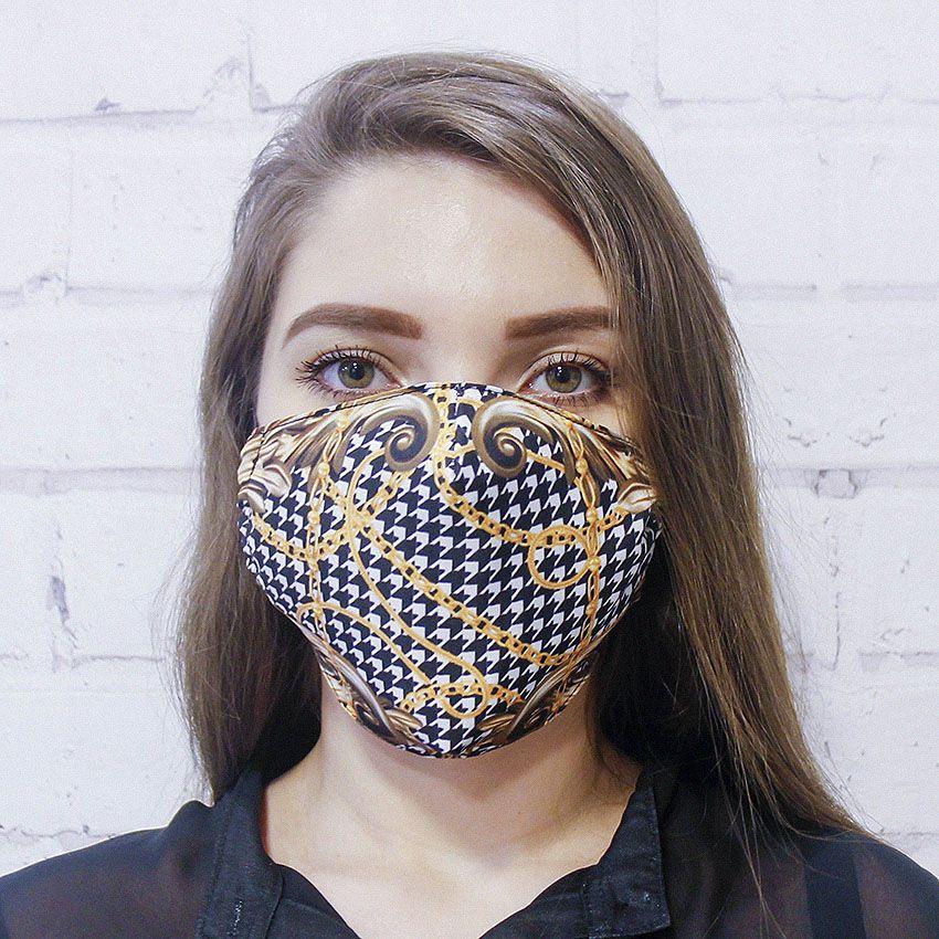 Máscara Arabescos