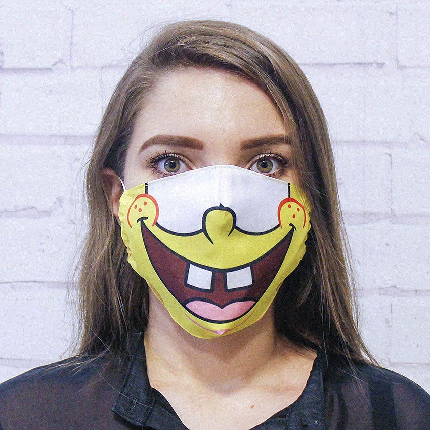 Máscara Bob Sponja