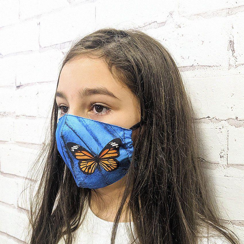 Máscara Borboleta