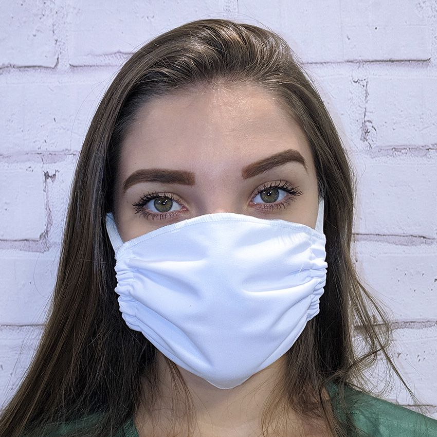 Máscara Comercial Branca - 100 unidades