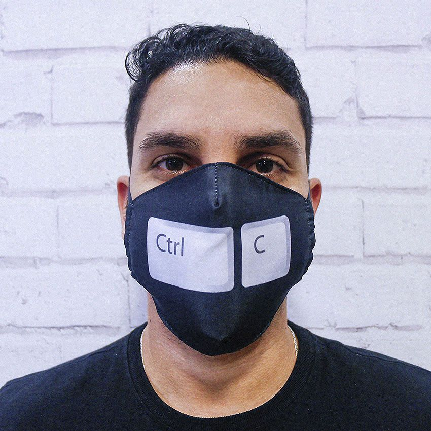 Máscara CTRL + C