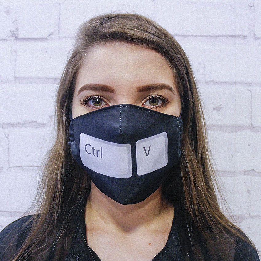 Máscara CTRL + V