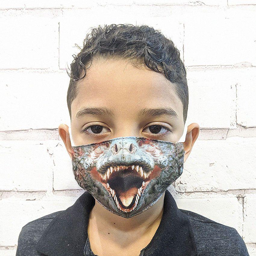 Máscara Dino Raptor