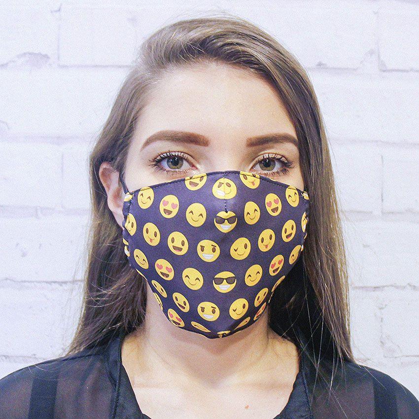 Máscara Emoji