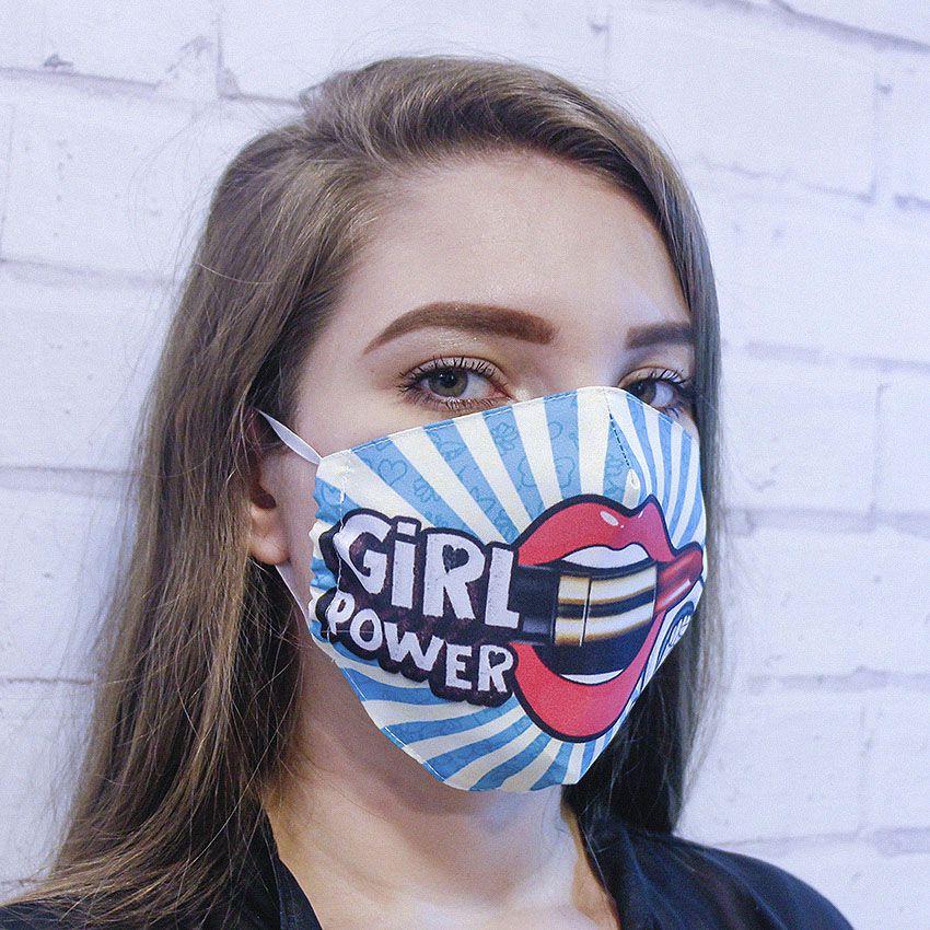 Máscara Girl Power