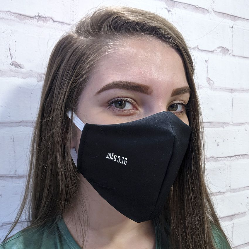Máscara João 3:16