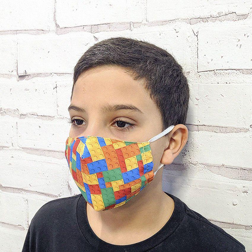 Máscara Lego