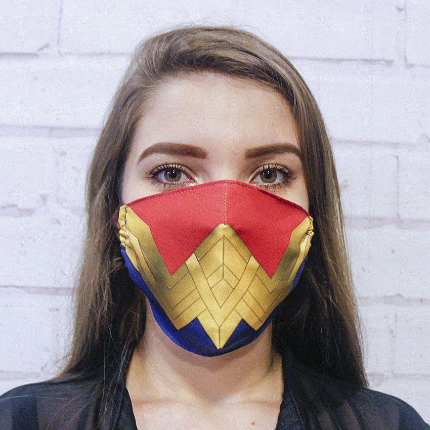 Máscara Mulher Maravilha