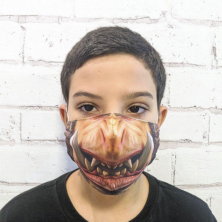 Máscara Orc