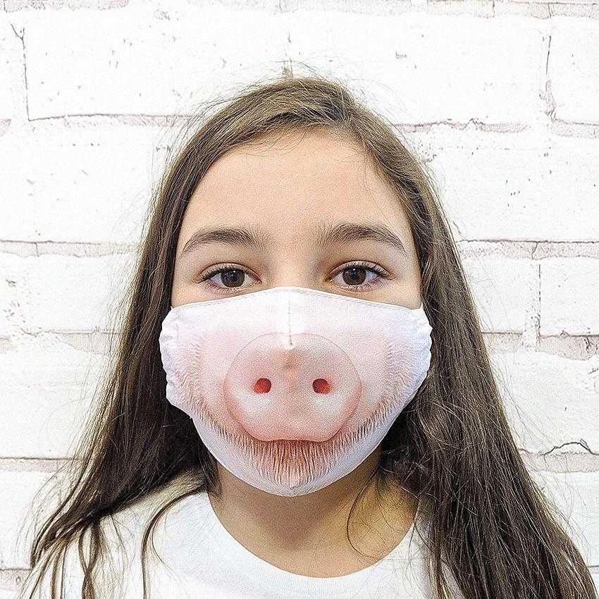 Máscara Porquinho