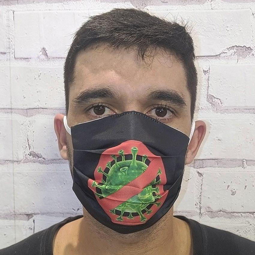 Máscara Preta Corona