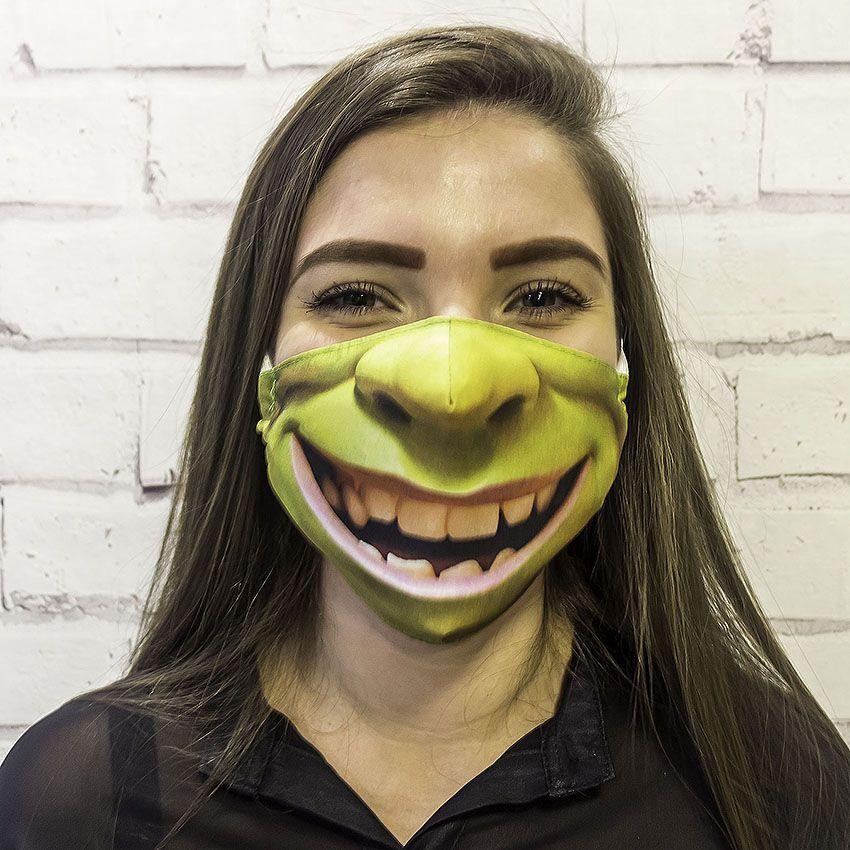 Máscara Shrek