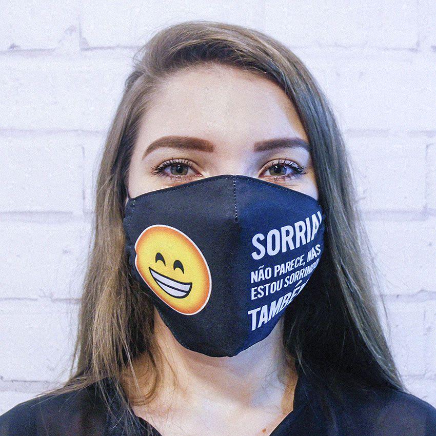 Máscara Sorria