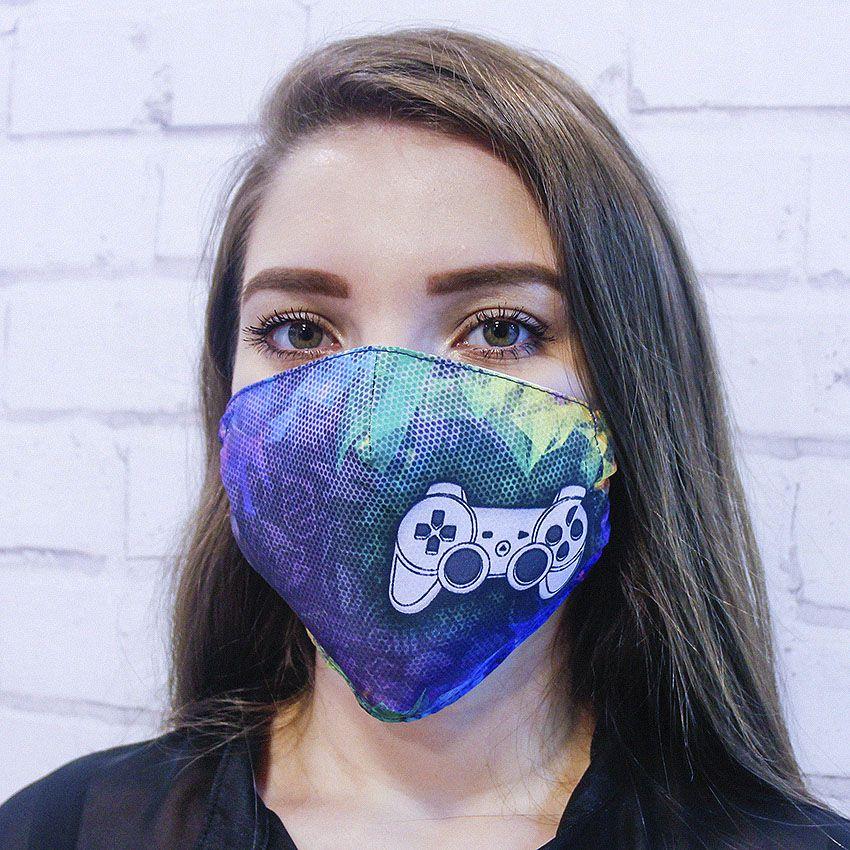 Máscara Vídeo Game
